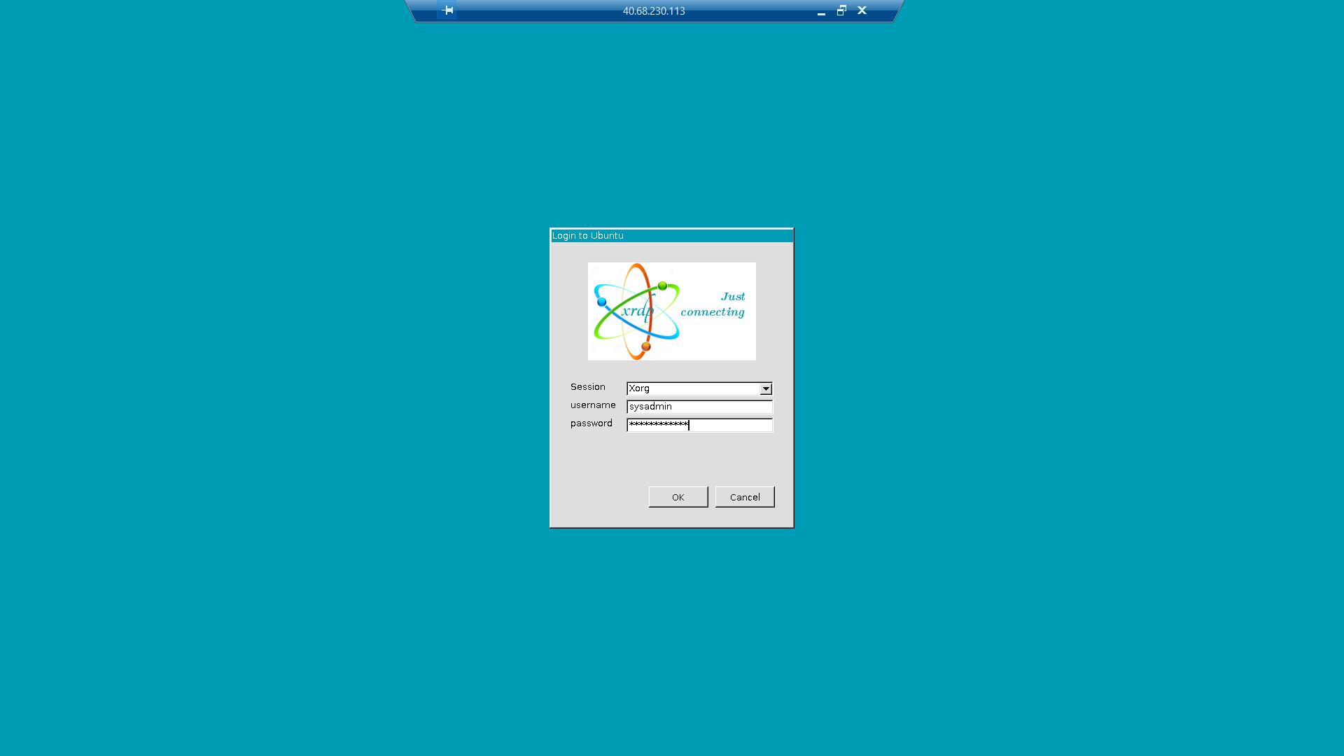 Azure: Installing GNOME desktop and xRDP to access an Ubuntu 17 10