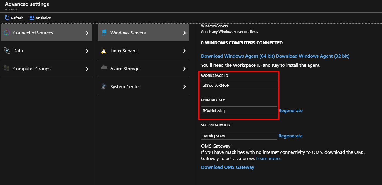 Azure: Installing the Microsoft Antimalware and Log